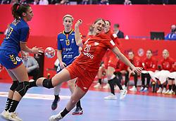 KOLDING, DENMARK - DECEMBER 5: Joanna Drabik during the EHF Euro 2020 Group D match between Poland and Romania in Sydbank Arena, Kolding, Denmark on December 5, 2020. Photo Credit: Allan Jensen/EVENTMEDIA.