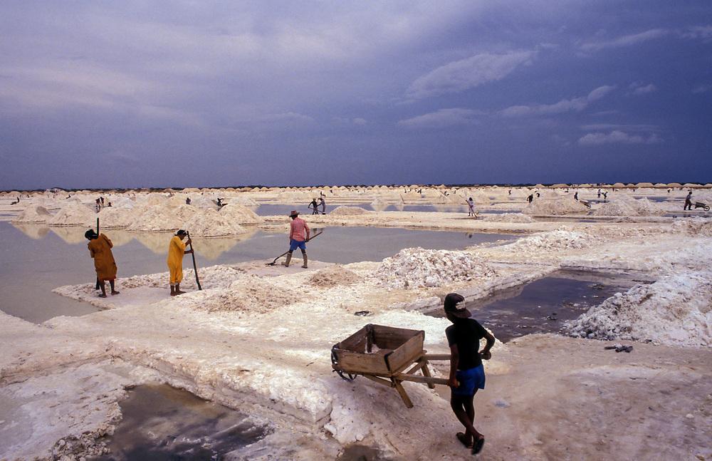 Salt miners of Manaure, La Guajira, Colombia