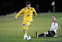 Fotball , 8. mars 2012, Privatkamp , Sogndal - Bodø/Glimt 2-2<br /> Erlend Robertsen , Glimt<br /> Ørjan Hopen , Sogndal