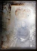 damaged portrait France ca 1920s