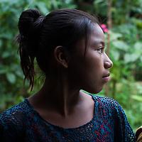 A Q'eqchi girl in Concepción Actelá, Alta Verapaz. World Renew is beginning to work in Concepción Actelá, through its Guatemalan partner ADIP.