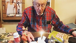 """Zac Efron releases a photo on Instagram with the following caption: """"Happy 91st Bday to the Original Efron! The man who made it all possible! After the army-he Married my beautiful Grandma Dotty, raised three young Efrons- one of whom is one heck of a guy- my dad. And from the day I came into this world, taught me everything: how to tell stories, ski, laugh, love, work hard, and appreciate the beautiful things in life: paying it forward, treat others as one would like others to treat oneself, and live every day to the fullest. I\u2019ve never seen anyone light up a room like you Grandpa. Thanks for being my idol, mentor, best friend, and the BEST SKIER in the family. Happy 91 years Grandpa! I love you. I\u2019ll See you and Grandma soon! Can\u2019t wait to follow your tracks down the \ud83c\udfd4 and beyond."""". Photo Credit: Instagram *** No USA Distribution *** For Editorial Use Only *** Not to be Published in Books or Photo Books ***  Please note: Fees charged by the agency are for the agency's services only, and do not, nor are they intended to, convey to the user any ownership of Copyright or License in the material. The agency does not claim any ownership including but not limited to Copyright or License in the attached material. By publishing this material you expressly agree to indemnify and to hold the agency and its directors, shareholders and employees harmless from any loss, claims, damages, demands, expenses (including legal fees), or any causes of action or allegation against the agency arising out of or connected in any way with publication of the material."""