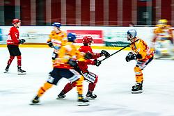 Alps League Ice Hockey match between HDD SIJ Jesenice and Migross Supermercati Asiago Hockey on April 17, 2021 in Ice Arena Podmezakla, Jesenice, Slovenia. Photo by Peter Podobnik / Sportida