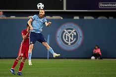 New York City FC tie the New York Red Bulls - 22 Aug 2018