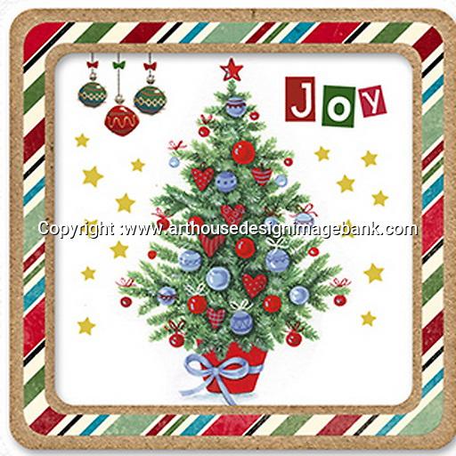 Christmas napkin designs