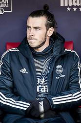 February 9, 2019 - Madrid, Spain - Gareth Bale of Real Madrid during La Liga match between Atletico de Madrid and Real Madrid at Wanda Metropolitano in Madrid Spain. February 09, 2018. (Credit Image: © Peter Sabok/NurPhoto via ZUMA Press)