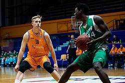 Urban Oman KK Helios Suns during 9. round of Slovenian national championship between teams Helios Suns and Zlatorog Lasko in Sport Hall Domzale on 30. November 2019, Domzale, Slovenija. Grega Valancic / Sportida