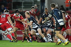 Bristol Rugby replacement Will Homer - Mandatory byline: Dougie Allward/JMP - 22/01/2016 - RUGBY - Ashton Gate -Bristol,England - Bristol Rugby v Ulster Rugby - B&I Cup