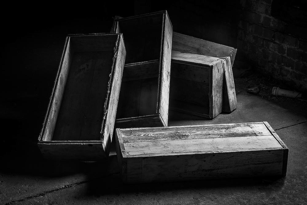 Ghost Boxes, Silo City, Buffalo, NY