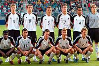 Fotball <br /> FIFA World Youth Championships 2005<br /> Nederland / Holland<br /> Foto: ProShots/Digitalsport<br /> <br /> tyskland - egypt, enschede, 11-06-2005<br /> <br /> teamfoto tyskland