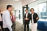 Isabelle Kocher, CEO of Engie, visits Engie Headquaters in Singapore in Singapore, on 21 March 2018. Photo by Weixiang Lim/Studio EAST