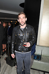 JOSEPH MAWLE at the Matthew Williamson London Fashion Week Autumn/Winter 2012 After Party held at Nobu Berkeley, London on 19th February 2012.