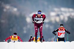 January 6, 2018 - Val Di Fiemme, ITALY - 180106 Sergey Ustiugov of Russia competes in men's 15km mass start classic technique during Tour de Ski on January 6, 2018 in Val di Fiemme..Photo: Jon Olav Nesvold / BILDBYRN / kod JE / 160123 (Credit Image: © Jon Olav Nesvold/Bildbyran via ZUMA Wire)