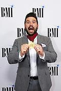 Shay Mooney is seen arriving at BMI Awards at BMI Nashville on Tuesday, November 7, 2017, in Nashville, Tenn. (Photo by Wade Payne/Invision/AP)