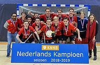 ROTTERDAM  - NK Zaalhockey  finale .hdm JB1-Schaerweijde JB1 (3-5)  . Schaerweijde  Nederlands Kampioen -16.   COPYRIGHT KOEN SUYK