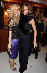 Left to right, JENNY HALPERN and TRINNY WOODALL at a party hosted by Jo Malone - Pomegranate Noir, held at The Vinyl Factory, 45 Foubert's Place, London W1 on 15th September 2005.<br />