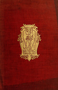 Decorated book cover with gilded embossed image From the book ' English sport ' by Alfred Edward Thomas Watson, Published in London by Macmillan and Co. Limited and in New York by Macmillan Company. in 1903