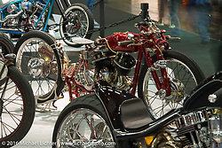 Jakub Kaderabek built this 1942 Harley-Davidson WLA 750 in his KuBig Custom shop in Revnice, Czech Republic and displayed it here at the AMD World Championship of Custom Bike Building show in the custom dedicated Hall 10 at the Intermot Motorcycle Trade Fair. Cologne, Germany. Saturday October 8, 2016. Photography ©2016 Michael Lichter.