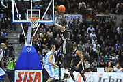 DESCRIZIONE : Eurocup 2013/14 Gr. J Dinamo Banco di Sardegna Sassari -  Brose Basket Bamberg<br /> GIOCATORE : Rakim Sanders<br /> CATEGORIA : Tiro Tre punti<br /> SQUADRA : Brose Basket Bamberg<br /> EVENTO : Eurocup 2013/2014<br /> GARA : Dinamo Banco di Sardegna Sassari -  Brose Basket Bamberg<br /> DATA : 19/02/2014<br /> SPORT : Pallacanestro <br /> AUTORE : Agenzia Ciamillo-Castoria / Luigi Canu<br /> Galleria : Eurocup 2013/2014<br /> Fotonotizia : Eurocup 2013/14 Gr. J Dinamo Banco di Sardegna Sassari - Brose Basket Bamberg<br /> Predefinita :