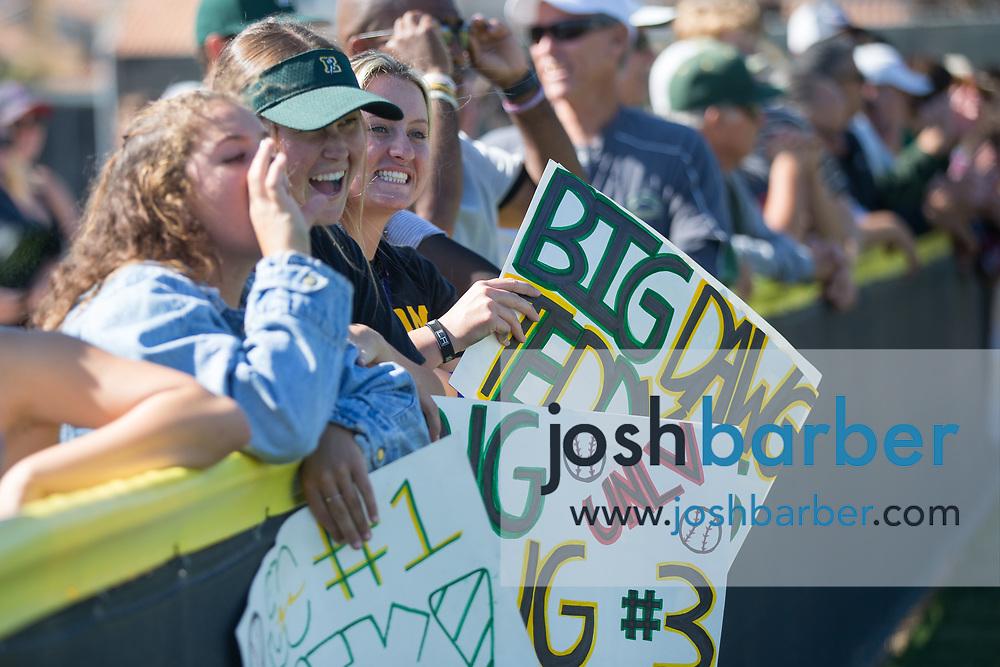Edison fans at Edison High School on Tuesday, May 23, 2017 in Huntington Beach, California. (Photo/Josh Barber)