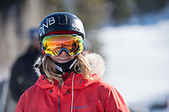 Kjersti Oestegaard Buass during Women's Snowboard Slopestyle Practice during 2015 X Games Aspen at Buttermilk Mountain in Aspen, CO. ©Brett Wilhelm/ESPN