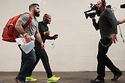 HOUSTON, TX - OCTOBER 2:  Daniel Cormier arrives at the UFC 192 weigh-in at the Toyota Center on October 2, 2015 in Houston, Texas. (Photo by Cooper Neill/Zuffa LLC/Zuffa LLC via Getty Images) *** Local Caption *** Daniel Cormier