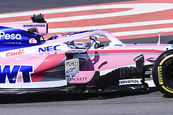 February 18, 2019 - Barcelona, Barcelona, Spain - Sergio Perez from Mexico with 11 SportPesa Racing Point F1 Team in action during the Formula 1 2019 Pre-Season Tests at Circuit de Barcelona - Catalunya in Montmelo, Spain on February 18. (Credit Image: © Xavier Bonilla/NurPhoto via ZUMA Press)