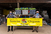 Paulo and Beto, owners of Sunrise Organic Farm