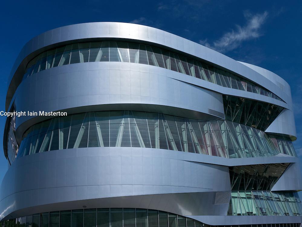 Mercedes Benz Museum in Stuttgart Germany
