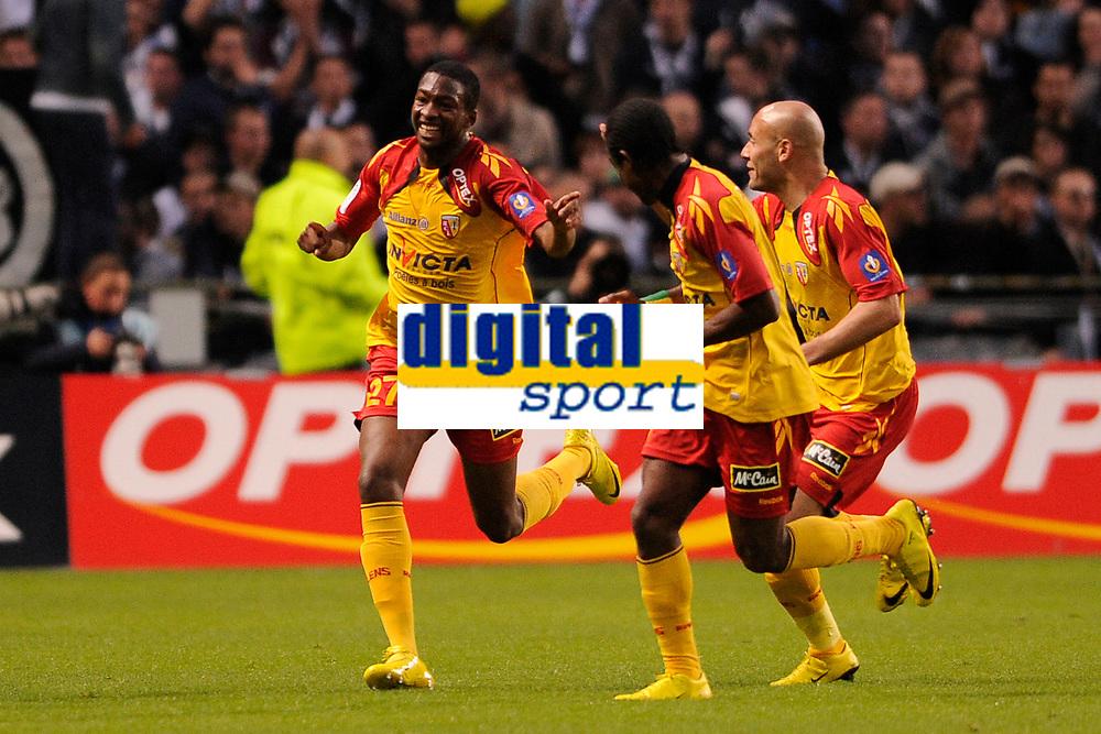 FOOTBALL - FRENCH CHAMPIONSHIP 2009/2010 - L1 - RC LENS v GIRONDINS BORDEAUX - 15/05/2010 - PHOTO JULIEN CROSNIER / DPPI - JOY LENS