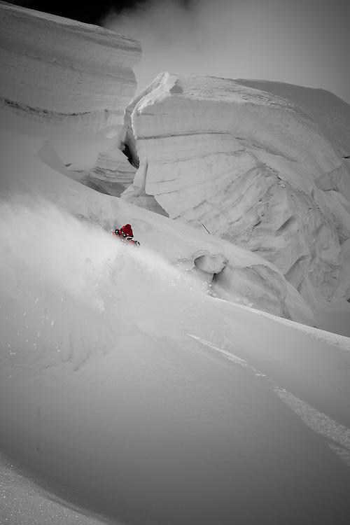 Rider: Dominique Perret Location Valais (Switzerland)