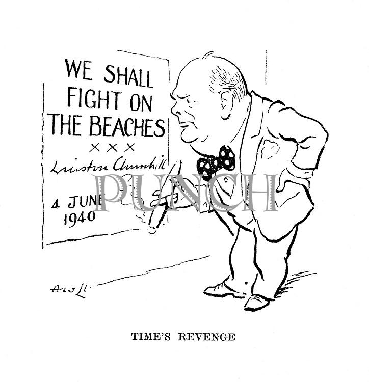 Time's Revenge (Winston Churchill)