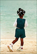 Girl on the Beach - Treasure Beach Jamaica