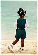 Girl on the Beach - Treasure Beach Jamaica