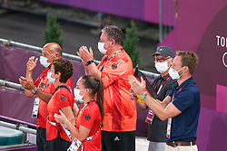 Team Germany, Roemer Klaus, Theodorescu Monica<br /> Olympic Games Tokyo 2021<br /> © Hippo Foto - Dirk Caremans<br /> 27/07/2021