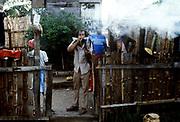 Ganga smoke coming from Burning Spear's yard 1978