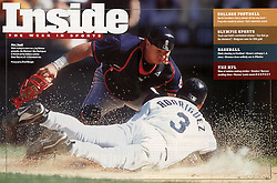 Einar Díaz and Alex Rodriguez, Sports Illustrated, 2000