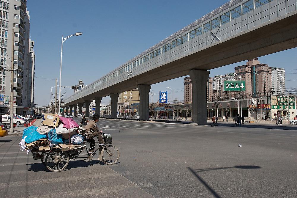 Yayuncun area in Chaoyang District of Beijing,China.