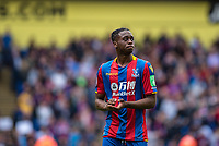 LONDON, ENGLAND - MAY 13: Aaron Wan-Bissaka  of Crystal Palace during the Premier League match between Crystal Palace and West Bromwich Albion at Selhurst Park on May 13, 2018 in London, England. MB Media