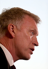 New West Ham United manager David Moyes during the press conference - 08 November 2017