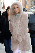 Jan. 26, 2016 - New York City, NY, USA - <br /> <br /> Actress Kate Hudson arrives at a downtown hotel on January 26 2016 in New York City <br /> ©Exclusivepix Media