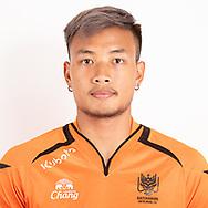 THAILAND - JUNE 24: Pawee Tanthatemee #39 of Ratchaburi Mitr Phol FC on June 24, 2019.<br /> .<br /> .<br /> .<br /> (Photo by: Naratip Golf Srisupab/SEALs Sports Images/MB Media Solutions)