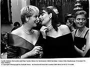 Carole Holmes McCarthy and Pam Taylor. Henry St. Settlement 100th birthday. Union Club. Manhattan. 9 October '93.<br />© Copyright Photograph by Dafydd Jones<br />66 Stockwell Park Rd. London SW9 0DA<br />Tel 0171 733 0108