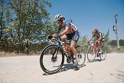 Ruth Winder (USA) at Strade Bianche - Elite Women 2020, a 136 km road race starting and finishing in Siena, Italy on August 1, 2020. Photo by Sean Robinson/velofocus.com