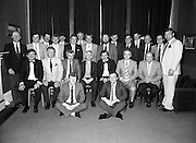 Rugby Team Reunion.at The Orwell Lodge Hotel..1986..24.05.1986..05.24.1986..24th May 1986..Rugby team of 25 years ago meet for a reunion..Unfortunately we do not have the caption sheet for those photographed here. If you were there or know the people involved why not get in touch at info@irishphotoarchive.ieand we will be delighted to add the information