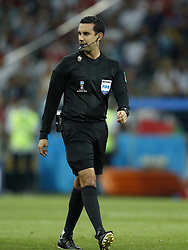 referee Cesar Ramos during the 2018 FIFA World Cup Russia round of 16 match between Uruguay and at the Fisht Stadium on June 30, 2018 in Sochi, Russia