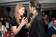 PRINCESS BEATRICE; MATTHEW WILLIAMSON, The Tomodachi ( Friends) Charity Dinner hosted by Chef Nobu Matsuhisa in aid of the Unicef  Japanese Tsunami Appeal. Nobu Berkeley St. London. 5 May 2011. <br /> <br />  , -DO NOT ARCHIVE-© Copyright Photograph by Dafydd Jones. 248 Clapham Rd. London SW9 0PZ. Tel 0207 820 0771. www.dafjones.com.