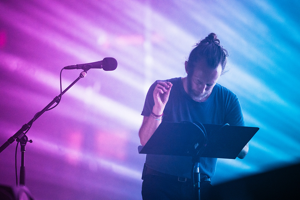 NEW YORK, NY - JULY 11: British band Radiohead perform at Madison Square Garden on July 11, 2018 in New York, New York. (PHOTO CREDIT: EricMTownsend.com)