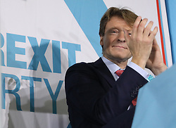 Richard Tice during a rally at Featherstone Working Man's Club, while on the European Election in Pontefract, West Yorkshire. Picture dated: Monday May 13, 2019. Photo credit should read: Isabel Infantes / EMPICS Entertainment.