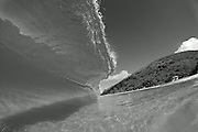 Black & White shore break at Big Beach, Maui